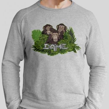 Pullover Drei Affen