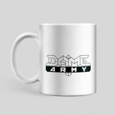 Teetasse Dame Army